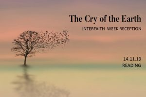The Cry of the Earth – Interfaith Reception